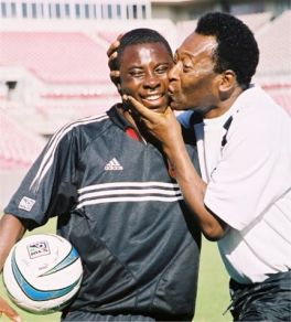 Adu was compared to Pele whilst still not even a teenager