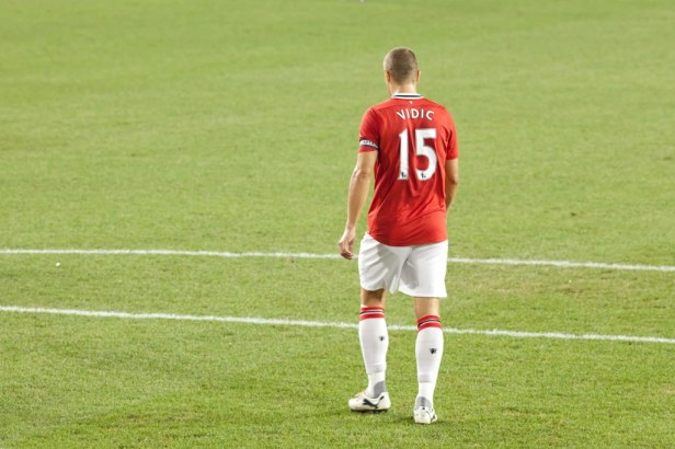 United fans will wave goodbye to Nemanja Vidic at the end of the season.